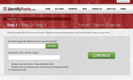 Identify fonts: encuentra la fuente que aparece en una imagen
