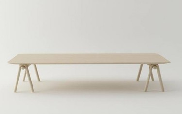 Stick Table, una mesa de aires japoneses de Stone Designs