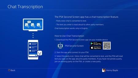 PS4 segunda pantalla