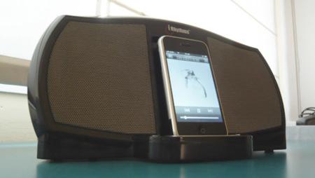 iRhythms A-303: Base dock con altavoces para iPod, lo hemos probado