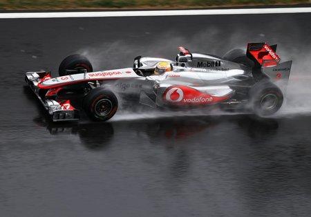 McLaren de Button y Hamilton dominan el viernes en el Gran Premio de Corea