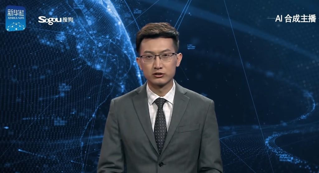 Este presentador del telediario en China está generado por inteligencia artificial, y no lo hace nada mal