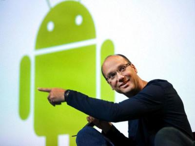 La imagen de la semana, Andy Rubin deja Google