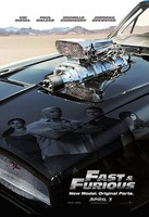 'Fast & Furious', póster