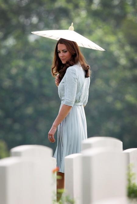 Los looks de Kate Middleton en su viaje por Asia
