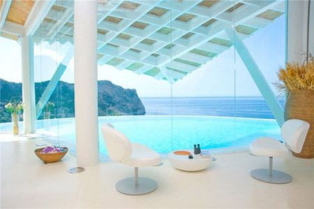 La villa con forma de gaviota en Port Andratx, Mallorca