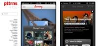 Pttrns, galería de interfaces para iOS. Inspiración 100%
