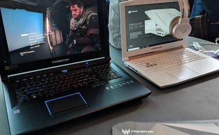 Swift 5 y Predator Helios 500, nuevos portátiles de Acer: uno ultraligero y otro gaming con procesador Core i9