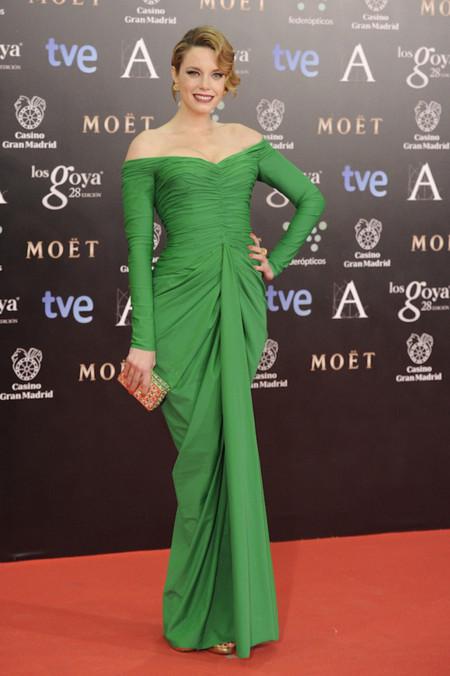 Carolina Bang peor vestidas Goya 2014