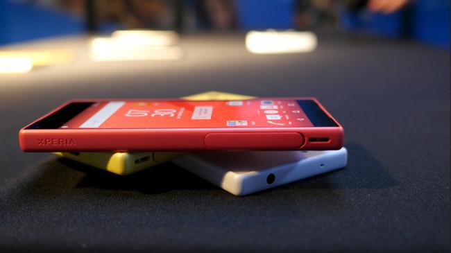 Precios sin sorpresas para los nuevos smartphones de Sony: el Xperia Z5 costará 699 euros