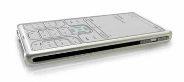 Teléfono basado en e-Ink con teclas configurables