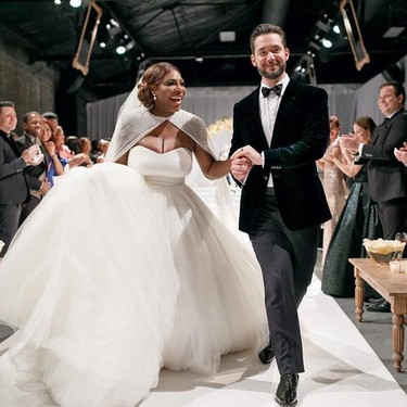 La lista de celebrities en la boda de Serena Williams suma a los más vips