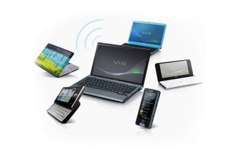 Share My Connection, Sony convierte sus portátiles VAIO en puntos de acceso WiFi