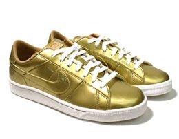 Edición limitada de zapatillas Nike doradas
