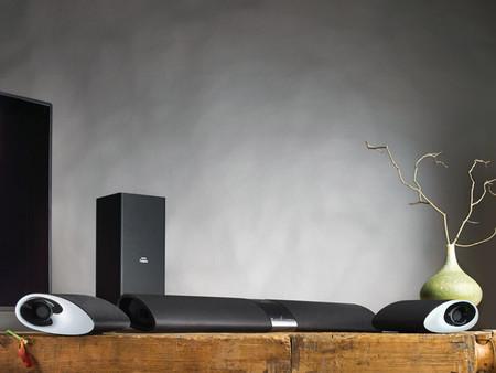La barra de sonido Philips Fidelio Soundbar, surround a la carta