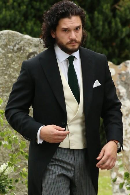 Kit Harington se convierte en el novio más elegante en su boda escocesa con Rose Leslie