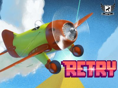 Rovio lanza Retry, un juego que no tiene nada que ver con los pájaros