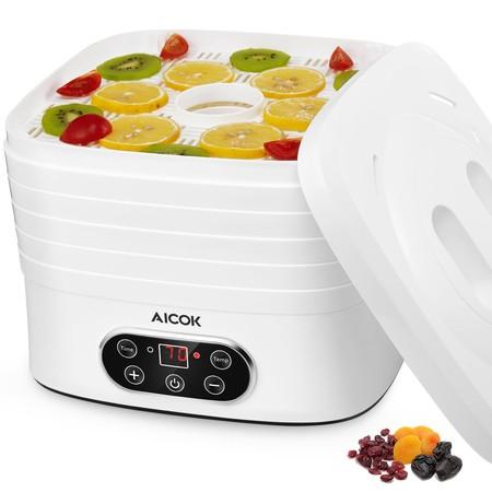 Cupón de descuento de 17 euros en el deshidratador de alimentos Aicok: se queda en 27,99 euros en Amazon