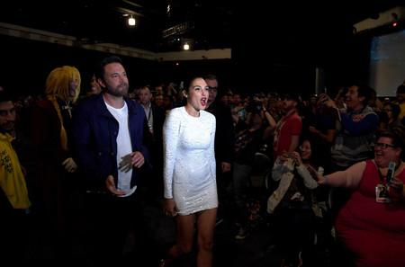 Ben Affleck en la Comic-Con 2017