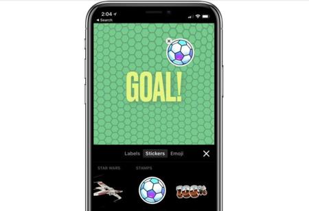 Apple Clips se prepara para el Mundial de Rusia con nuevos gráficos, carteles y etiquetas de fútbol
