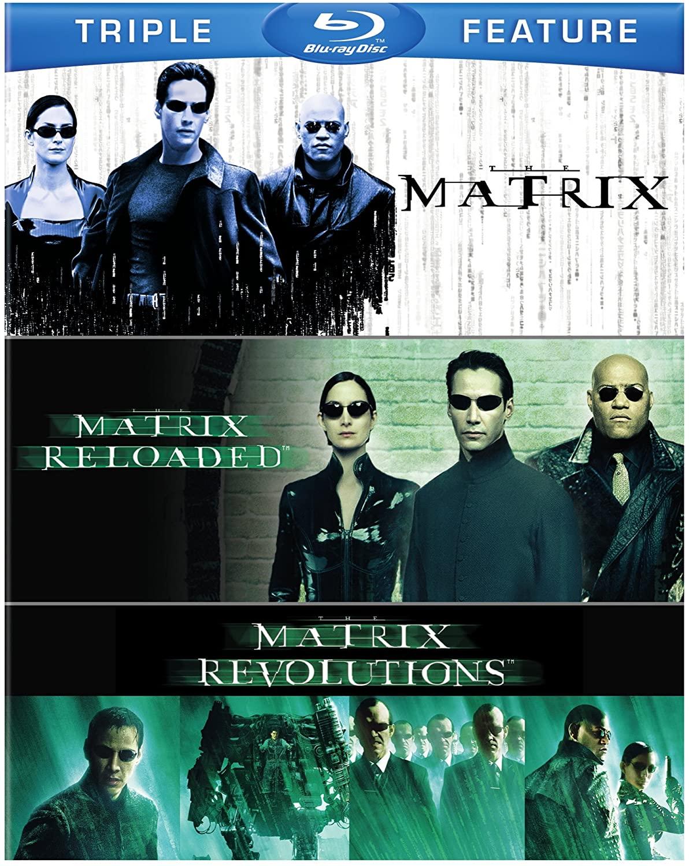 Trilogía de 'Matrix' en Blu-ray