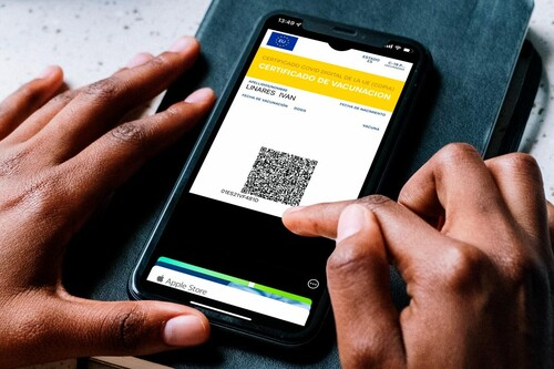 Cómo instalar el Certificado Covid en Apple Pay y en Google Pay