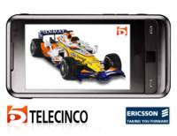 Ericsson y Telecinco lanzan la Fórmula 1 en el móvil