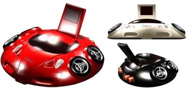 [CES 2007] iCar, altavoces deportivos para el iPod