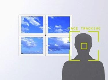 Una buena idea: una ventana virtual con marcos digitales