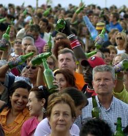 La Fiesta de la Sidra en Gijón