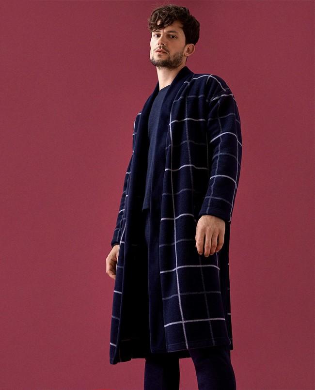 Los cuadros del invierno también se meten a tu cama con las pijamas de Zara Home