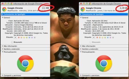 Reduciendo hasta 4 GB el tamaño de Google Chrome