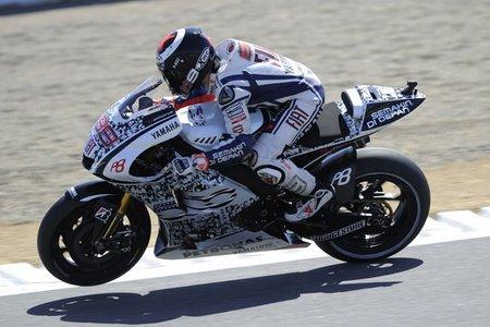 MotoGP Estados Unidos 2010: la caída de Dani Pedrosa allana el camino a la victoria de Jorge Lorenzo