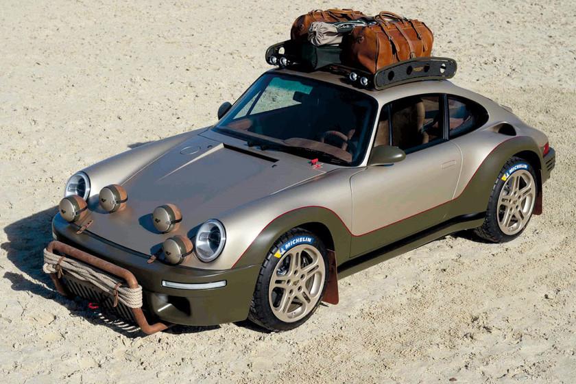 El Ruf Rodeo Concept es un 911 de rally con corazón atmósferico de 510 CV que no desentonaría en el Salvaje Oeste