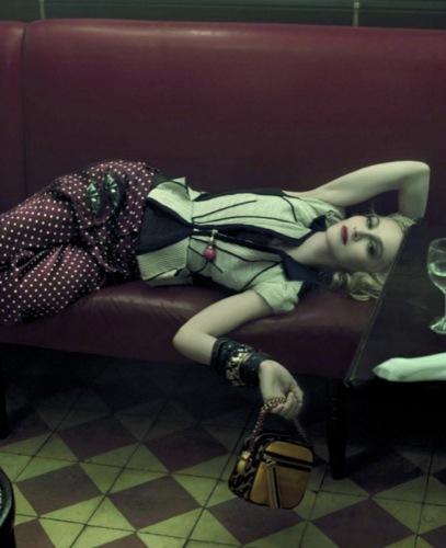 Madonna y Louis Vuitton, las imágenes que no cesan II