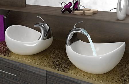 Swan, lavabos perfectos para dos