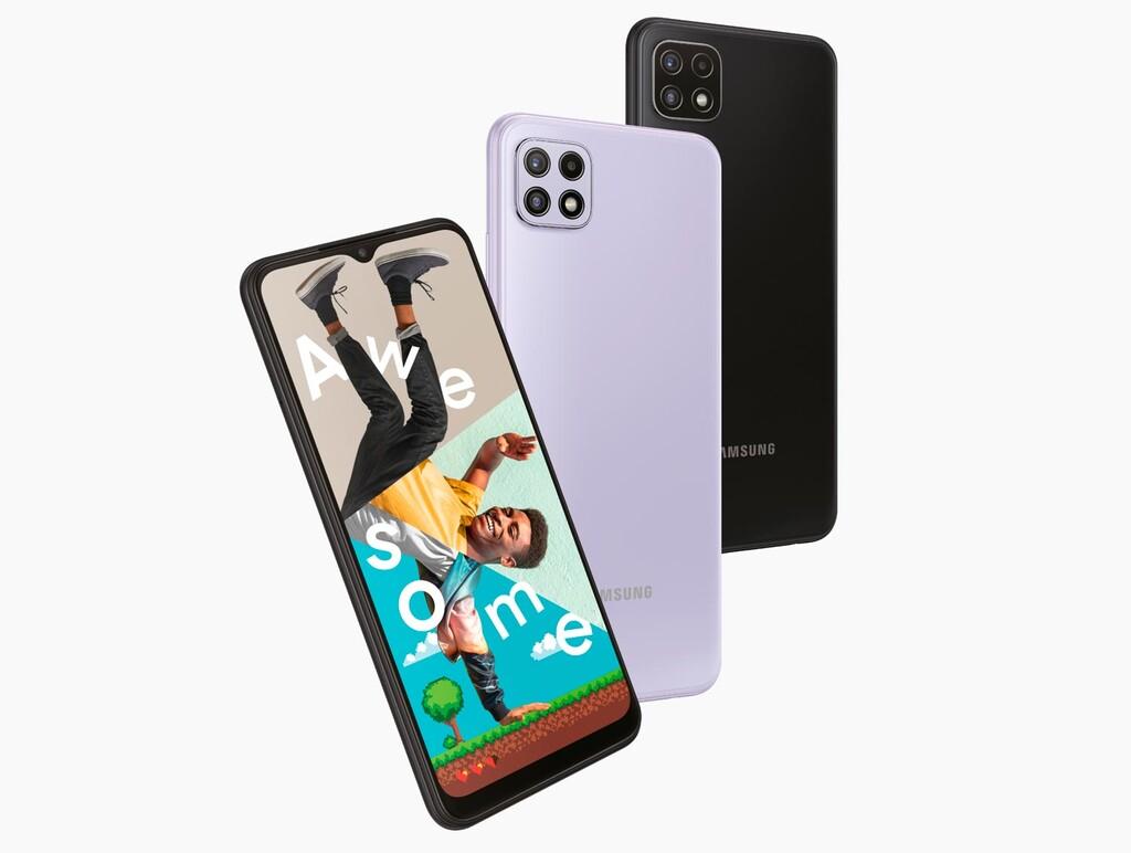 Samsung Galaxy™ A22 4G y Galaxy™ A22 5G, esencia de gama media con gran batería y conectividad de nueva generación