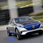 Mercedes-Benz EQ: los Mercedes del futuro no tienen V12, pero sí 700 Nm de par eléctrico