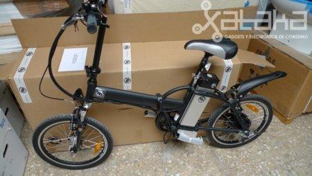 Una vuelta en bicicleta eléctrica, probamos una de Booster Bikes