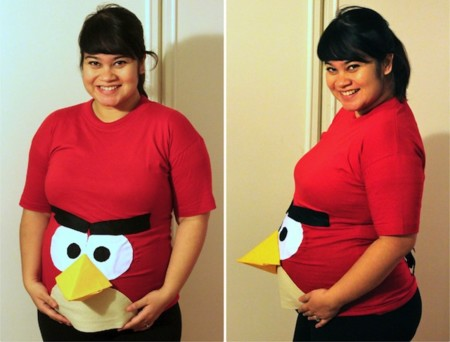 Angry Birds Pregnant Halloween Costume