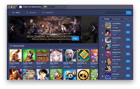 Emulador BlueStacks 4 macOS