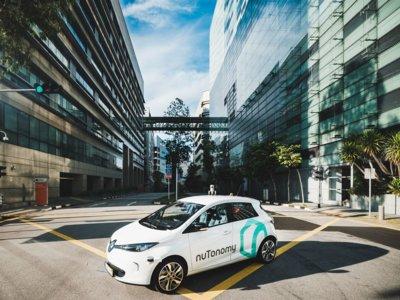 A Uber se le han adelantado en Singapur con el estreno del taxi autónomo
