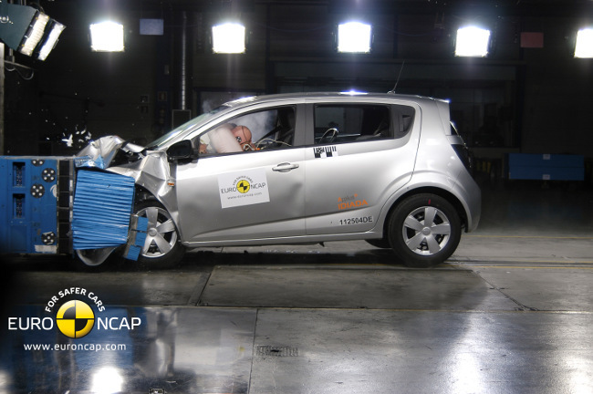 Crash Test del Chevrolet Aveo