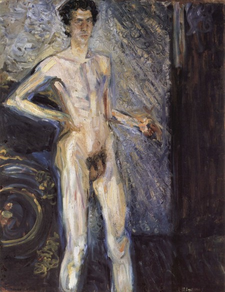 Último retrato de Richard Gerstl, 1908