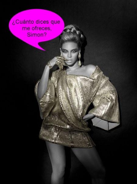 ¿Convencerá Simon Cowell a Beyoncé para participar en X Factor?