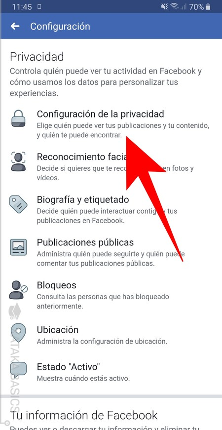 Configuracion Y Privacidad