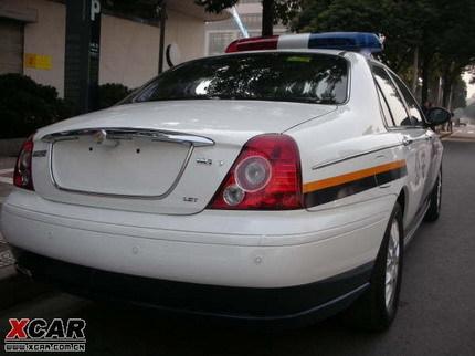 Coche policia chino