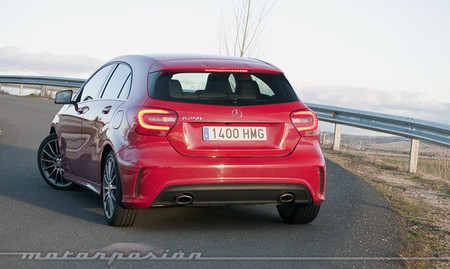 Mercedes-Benz A 250 BlueEfficiency, prueba