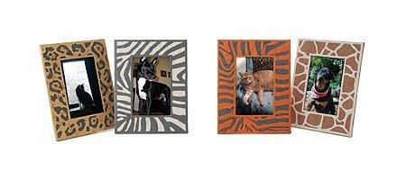 El print animal en tu casa: marcos de fotos