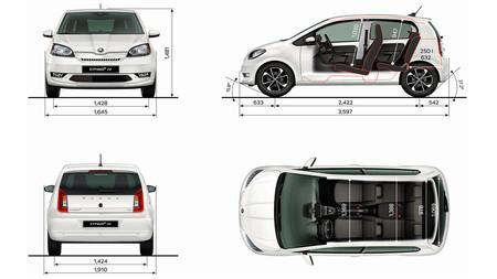 Škoda CITIGOe iV, a prueba